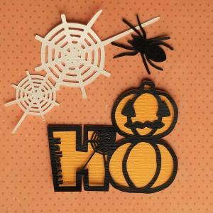 無料カット用データ●蜘蛛の巣とジャック/ハロウィン<スキャンカット>