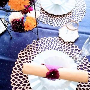 【重陽の節句】菊づくしのテーブルコーディネート