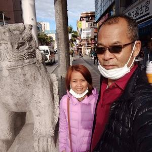 ジミー夫婦日本へ。