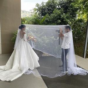 ラーメンマン君の結婚式。