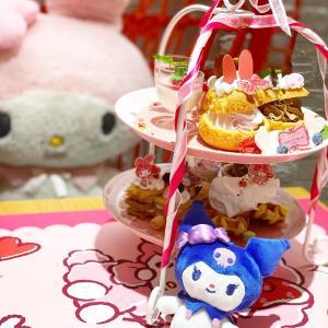 クロミちゃん♡マイメロちゃんの可愛いカフェへ