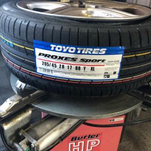 ルーテシア4 ph1 RS シャシーカップ タイヤ交換 63586km