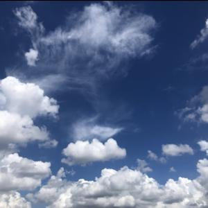 Why don't you take time to look at the clouds?  [雲を見上げてみませんか?] (9/18)