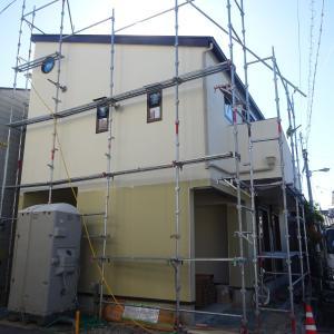 内外工事進んでます!:鶴見の家Ⅱ