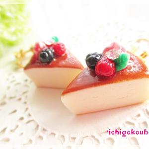 *チーズケーキno耳飾り*