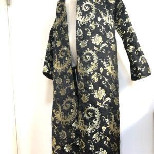 女性と男性のバンドマン衣装に・金キラ甚平&和柄羽織り&袴風ワイドパンツ