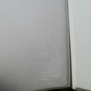 レッグシールド塗装 JA10スーパーカブの。