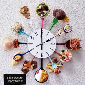 写真多め!フェイクフード壁掛け時計のオーダー完成(^^♪