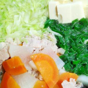 簡単で美味しい★野菜のうまみたっぷり鍋 [葉山野菜]