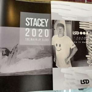 STACEY&LSDサーフボード2020配布用カタログ