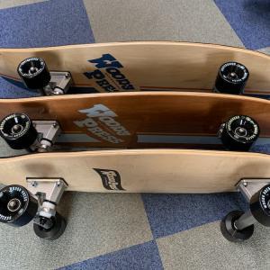 久しぶりの再入荷!WOODY PRESSスケートボード
