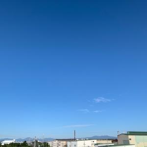 今日も良い天気