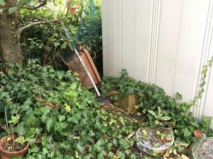 ローラー小屋の水害対策