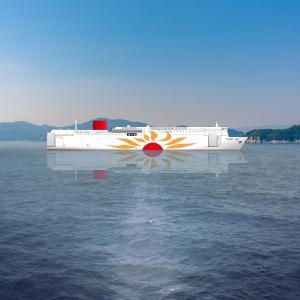 【フェリーさんふらわあ】大阪/別府航路に新造船投入を発表(2022年末~2023年前半)国内初のLNG燃料フェリーに