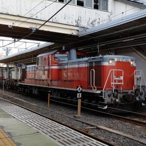 きのくに線の工事臨時列車(古座工臨)を和歌山駅でみる(2020.7.18)