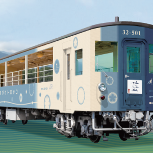 【JR四国】徳島線で新しいトロッコ列車「藍よしのがわトロッコ」運転開始を発表(2020.10.10~)