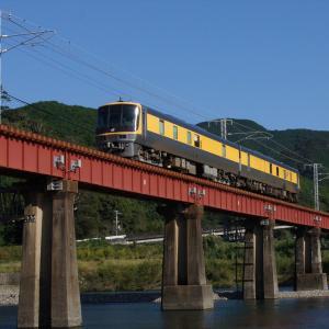 きのくに線・日置川橋梁での撮影記録(2020.10.24・午後の部)105系・283系・キヤ141系