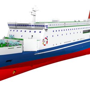 【名門大洋フェリー】新造船「フェリーきょうと」は2021年12月16日大阪南港発より運航開始