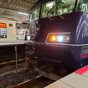WEST EXPRESS 銀河「紀南コース」上り列車を和歌山駅でみる(2021.9.15)