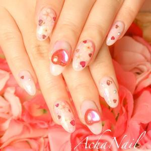 桜ネイル♡