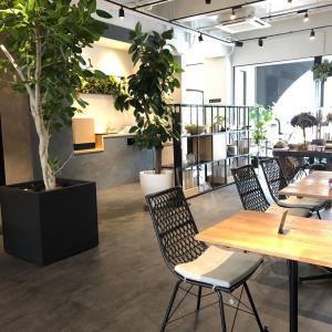 新船場の素敵なカフェに