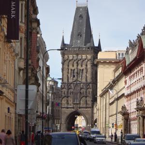 プラハ街歩き 共和国広場