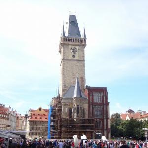 プラハ街歩き 旧市街広場