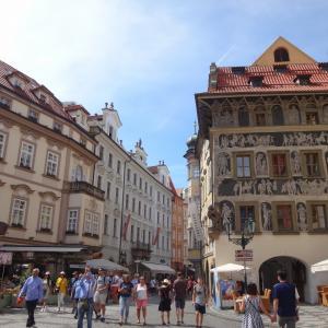 プラハ街歩き カレル通り