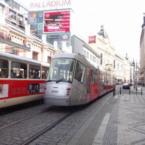 プラハ街歩き メトロ&トラム