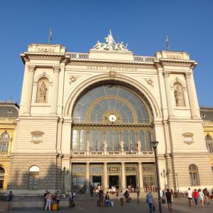 寝台列車でブダペストからプラハへ