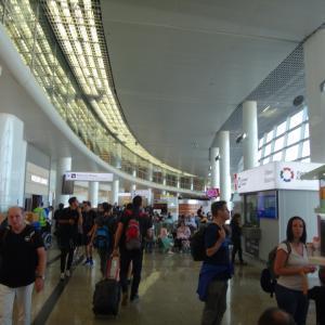 モスクワ空港 アンバーラウンジ
