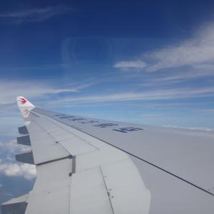 中国東方航空 モスクワ発 上海行き