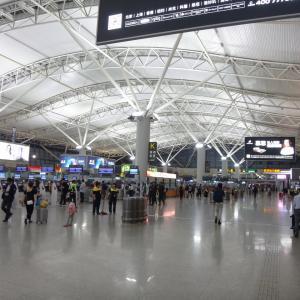 西安国際空港 到着