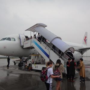 中国東方航空 西安発 中部行き