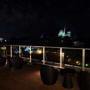 アンドコンフィホテル熊本城ビュー 屋上テラス