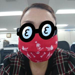 縫わない切らないマスクの作り方
