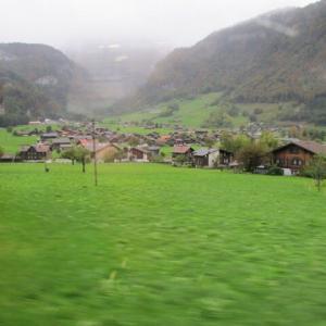 秋のスイス ユングフラウヨッホ