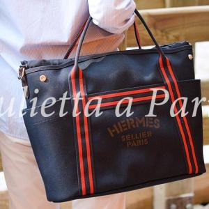 パリ・ソーエルメスの限定パンサージュバッグがなんと!エルメス本店復活!期間限定で販売開始♪ブログ