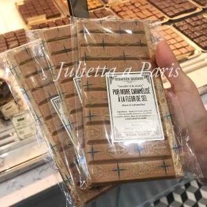 10月27日 この板チョコは外せない!世界イチ美味しいパリのセバスチャンゴダールの塩キャラメル♪