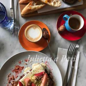 No.62 パリが好き!モンマルトルの丘の隠れ家カフェの朝食はパリのベスト5に入る♪ブログ