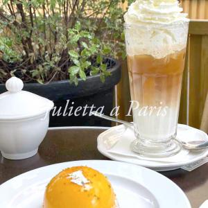 No67 パリが好き!いきなり夏日が戻ってきた!カフェ・ヴェルレで冷たいカフェグラッセ♪ブログ