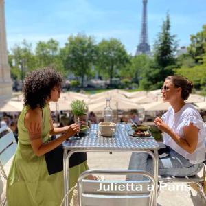 6月14日 マジ最高~!夏限定のガリエラ美術館の庭園のテラス席で最高のランチタイム♪パリブログ