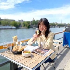 6月23日 本邦初公開!?誰にも教えたくない!セーヌ川ほとりのカフェで最高のランチタイム♪パリ