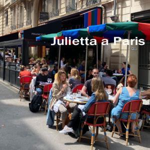 第4回『本当にウマイ! パリのカフェ飯探し!』エルメス本店前のめちゃ目立つ赤い椅子のカフェ♪