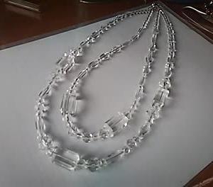 ベネチアングラスのネックレス