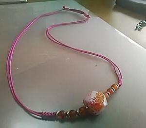 角型瑪瑙のネックレス
