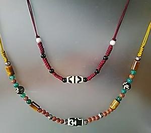 天珠ネックレスの紐