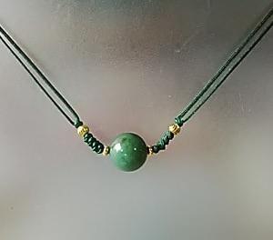 水草水晶のネックレス