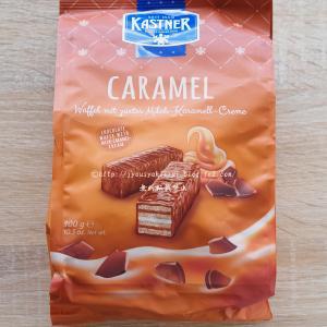 オーストリア産チョコキャラメルウェハース @ツルヤ