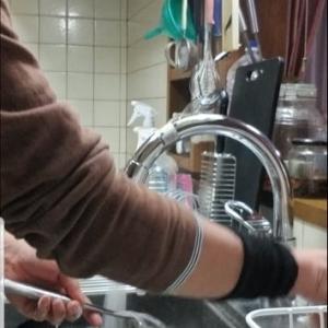 【リノベ20200221】キッチン流しの蛇口を新調しました(^^♪